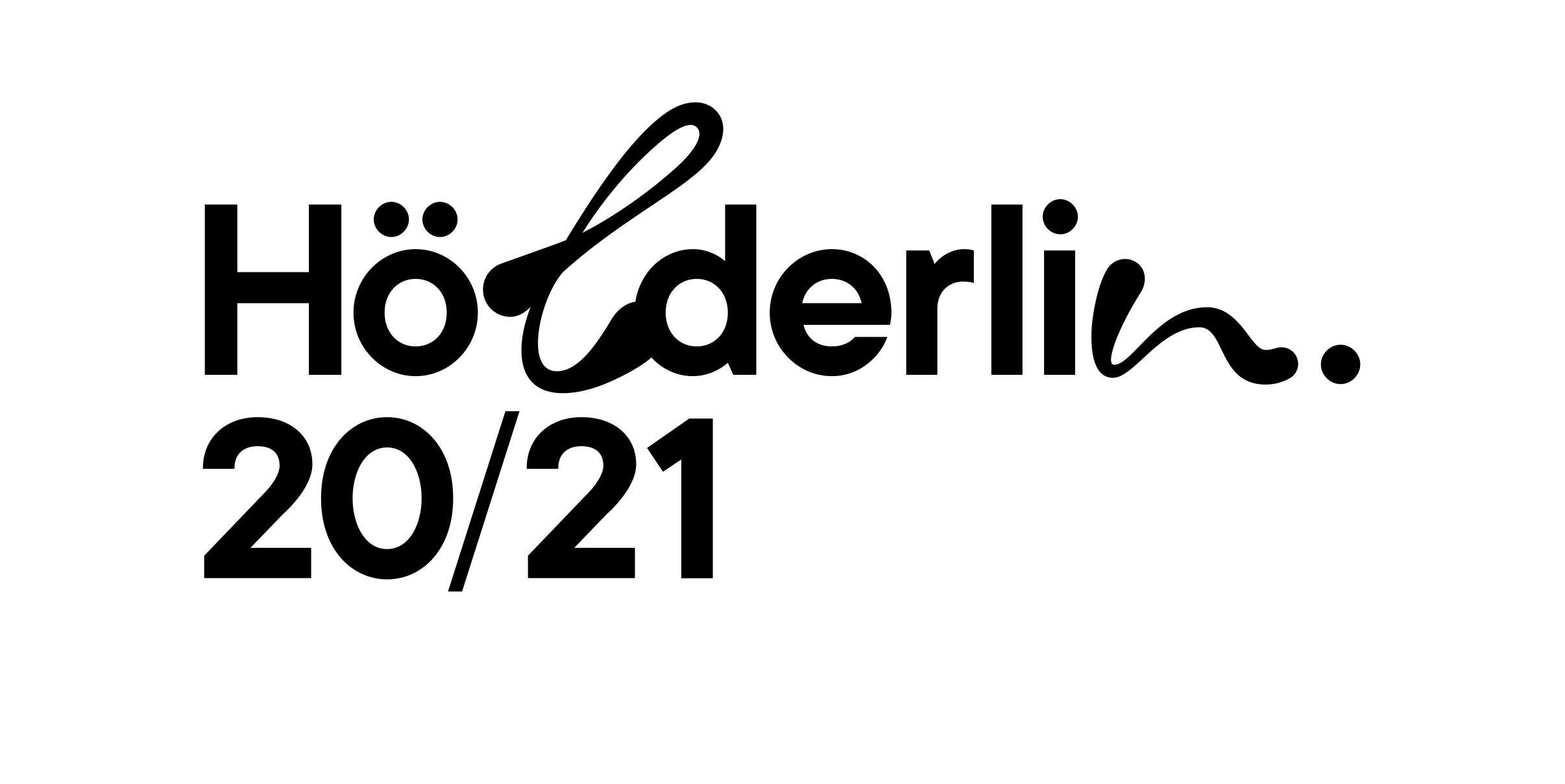 Hoelderlin2021 Logo BLACK