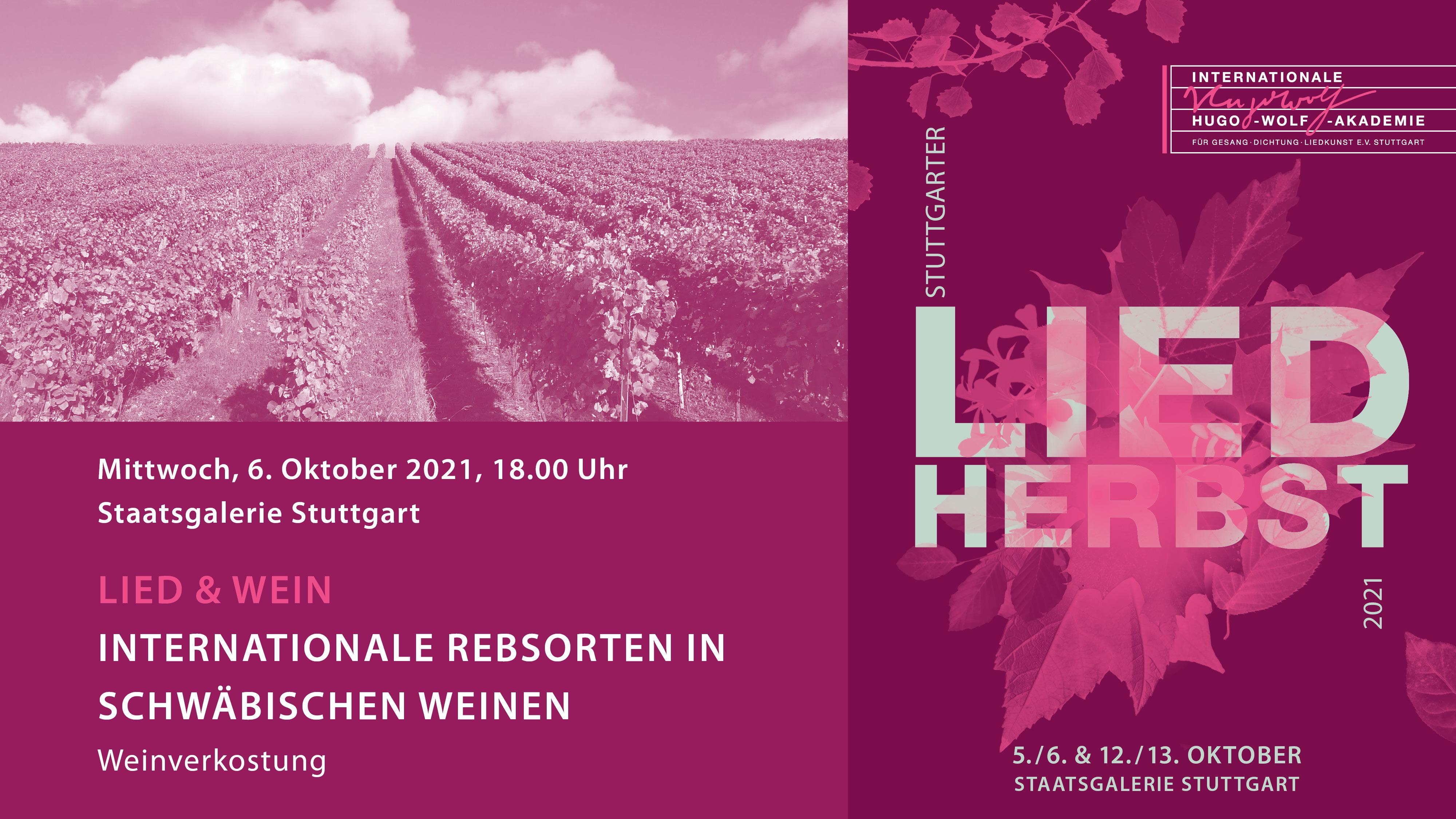 LiedHERBST: Lied & Wein II