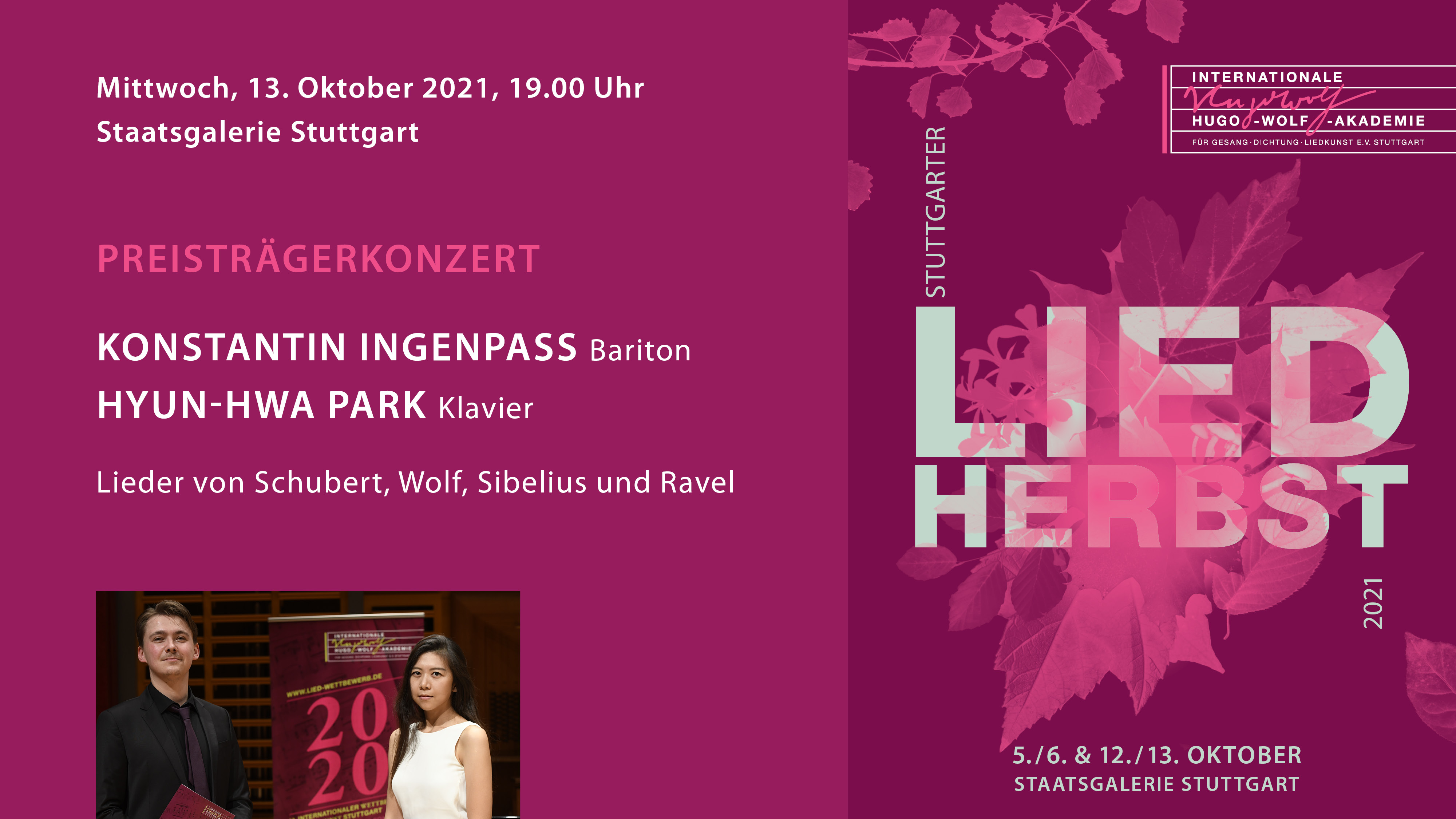 LiedHERBST: Preisträgerkonzert